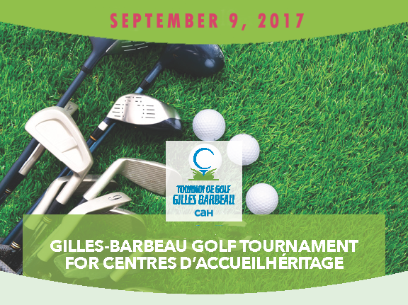 Gilles Barbeau Golf Tournament