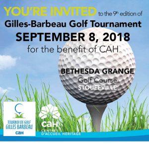Gilles-Barbeau Golf Tournament