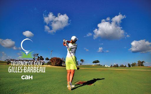Tournoi de Golf Gilles-Barbeau pour CAH