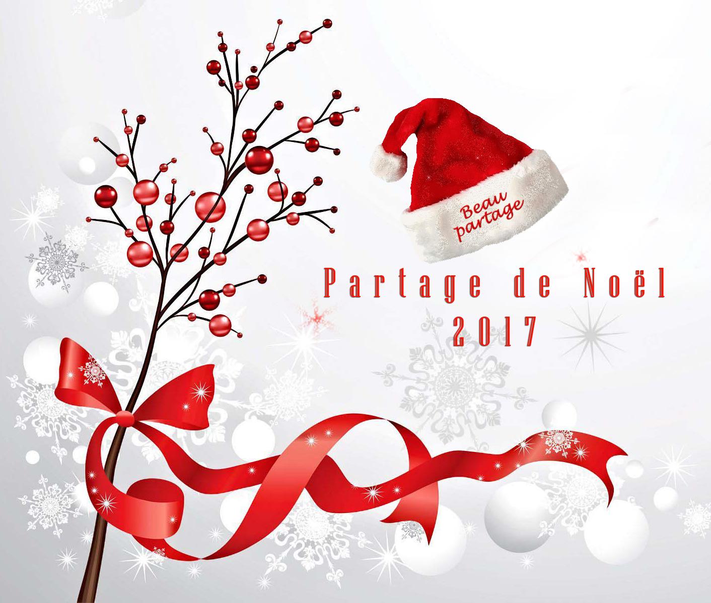Partage de Noël 2017