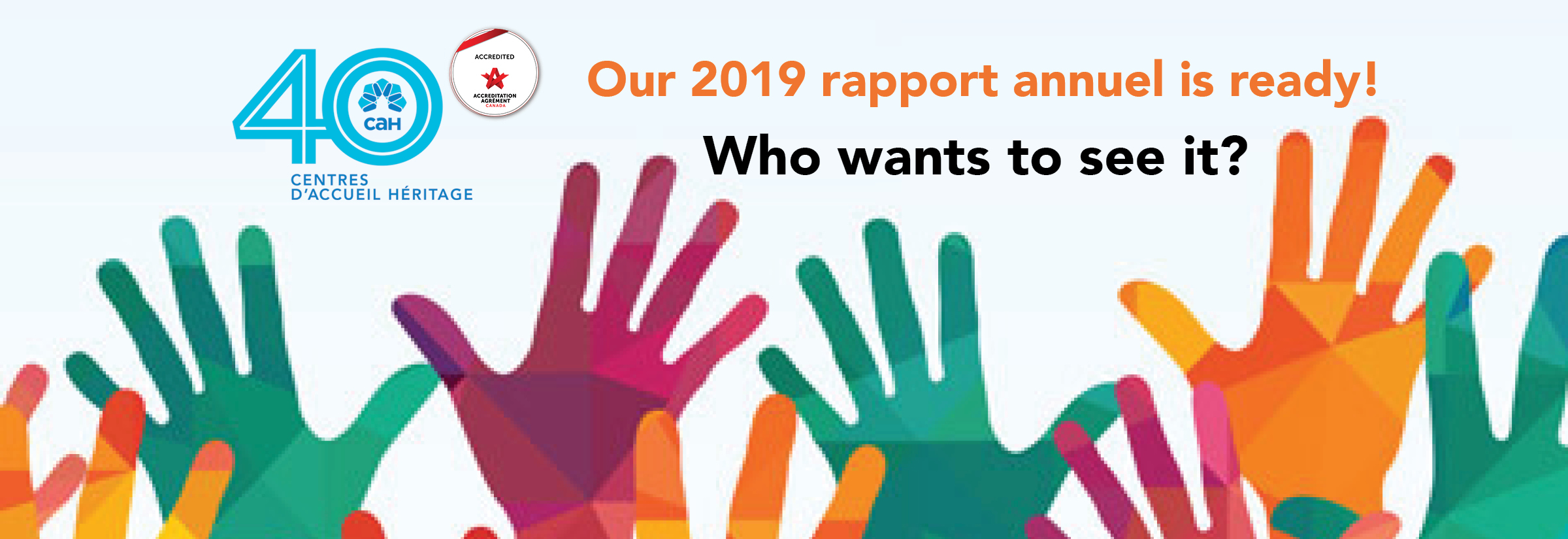Who wants to see CAH's 2019 Annual Report?