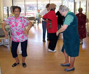 Center for Seniors calendar