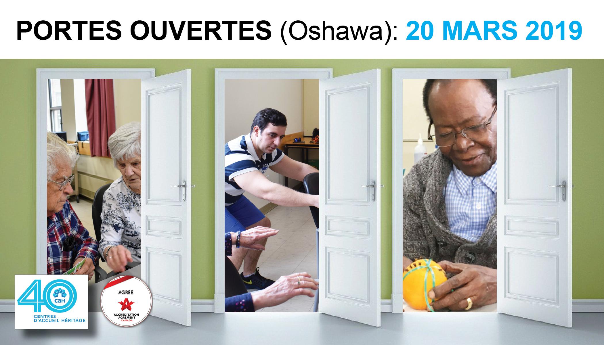 Journée Portes ouvertes (Service de jour Oshawa)